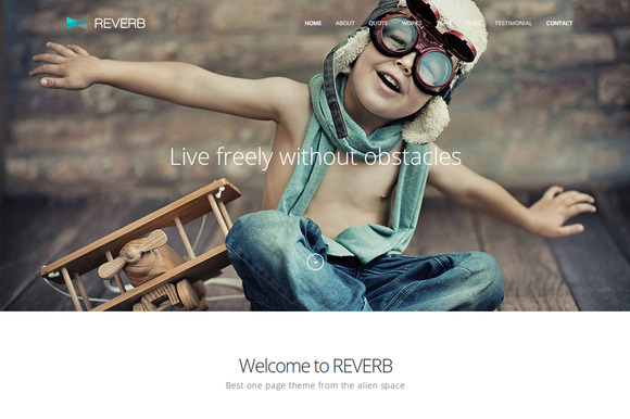 Reverb Multipurpose Wordpress Theme