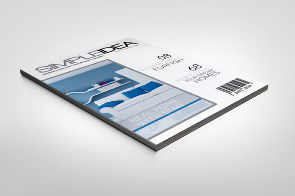 Simple Magazine Template