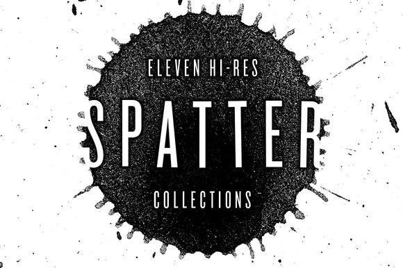 Hi-Res Spatter Set