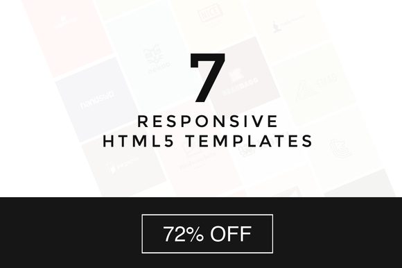 7 Responsive Web Templates