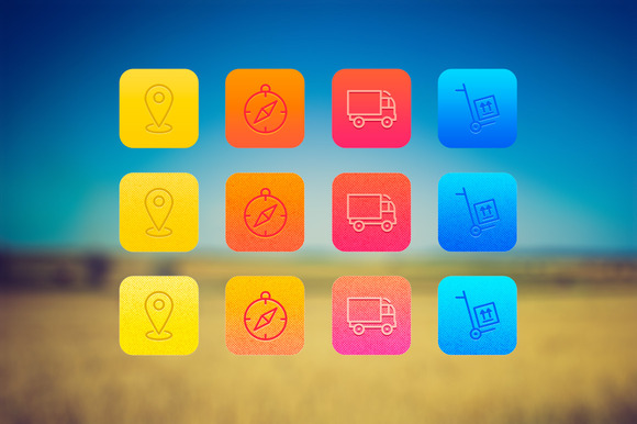 Layer Styles For App Icons