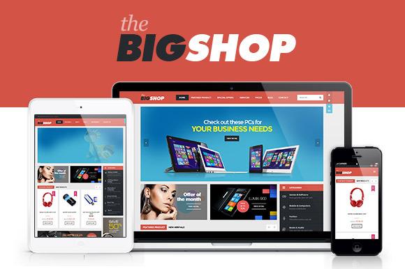 Bigshop WooCommerce Wordpress Theme