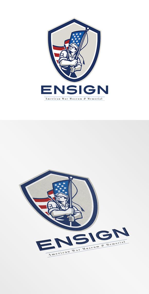 Ensign War Memorial And Museum Logo