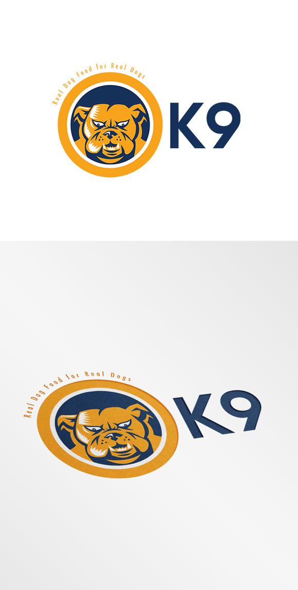 K9 Real Dog Food Logo