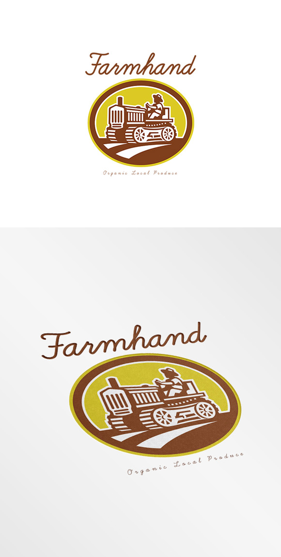 Farmhand Local Organic Producer Logo