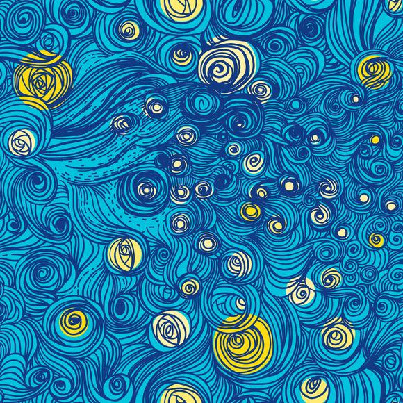 Van Gogh Sky Pattern