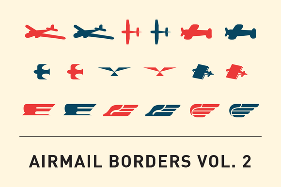 Airmail Borders Vol 2
