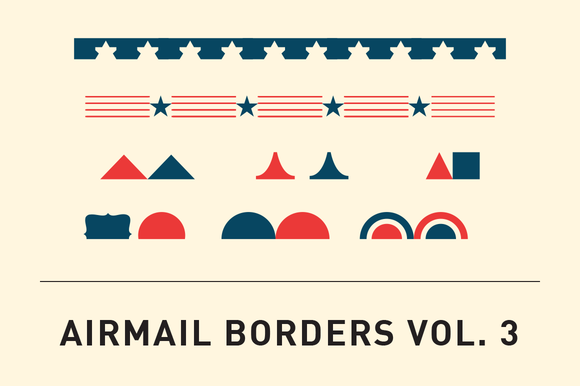 Airmail Borders Vol 3