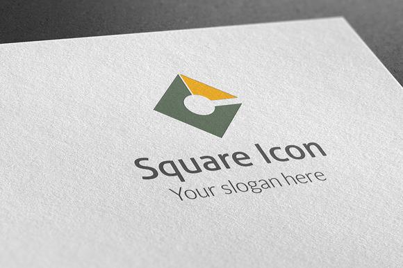 Square Icon Logo
