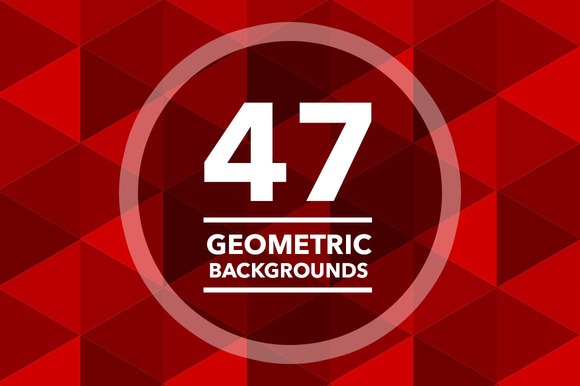 47 Geometric Backgrounds