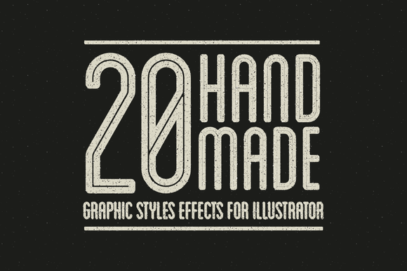 20 AI Grungy Graphic Styles