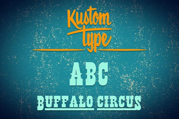 Buffalo Circus Font