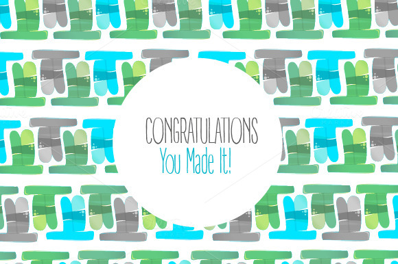 Congratulations Card Patterns