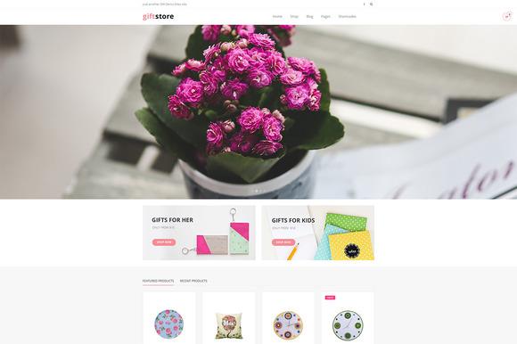 DW GiftStore WP ECommerce Theme