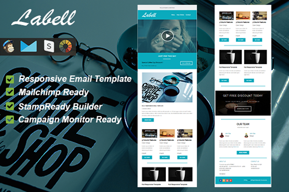 Labell Responsive Email Template