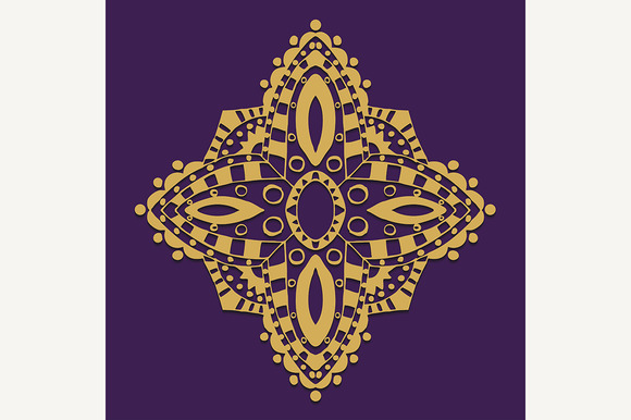 Abstract Vector Ornament