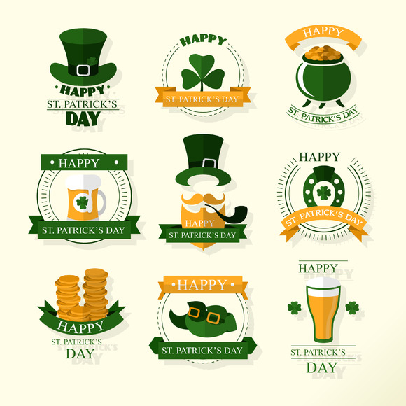 Patrick S Day Related Icons Ai