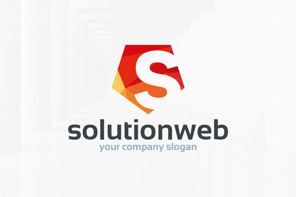 Solution Web Letter S Logo