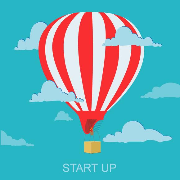 Sturtup Concept Business Launch