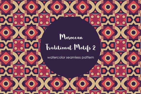 Traditional Moroccan Motif Pattern 2