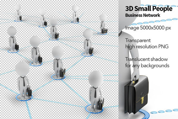 3D Small People Business Network