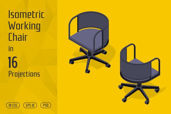 Isometric Working Chair