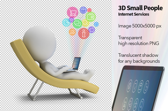 3D Small People Internet Services