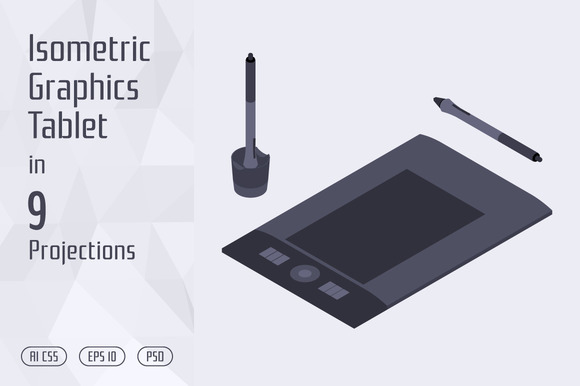 Isometric Graphics Tablet