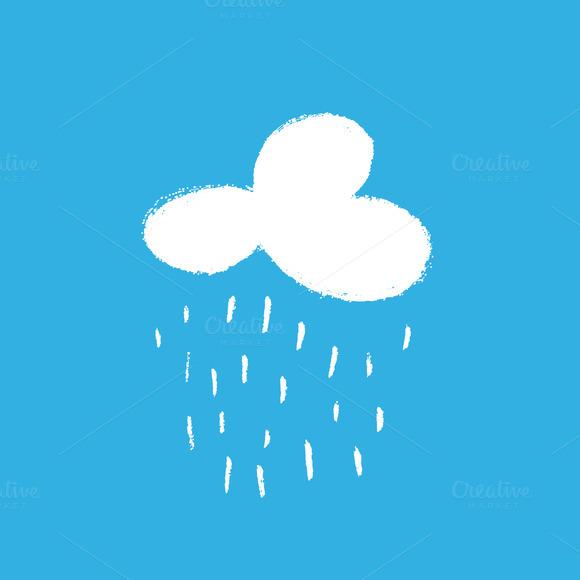 White Cloud And Rain