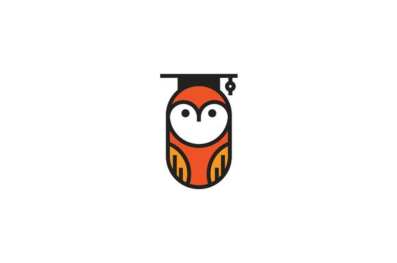 Smart Owl Logo Template