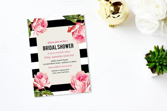 Floral Romance Bridal Shower