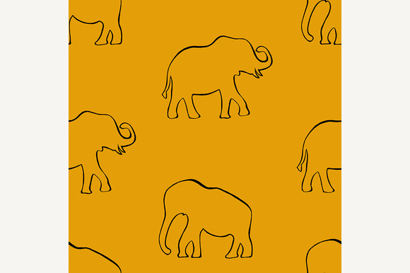 Elephants In Indian Style