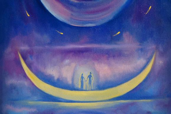 Cosmic Love Paint Set
