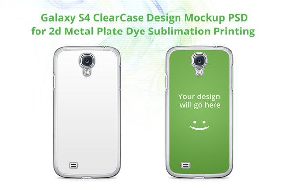 Galaxy S4 2d ClearCase Mock-up