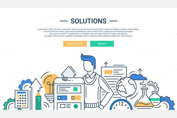 Business Solutions Website Header