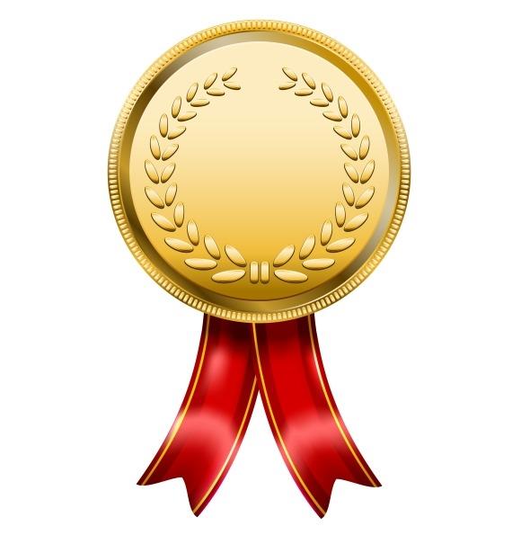 Gold metal award