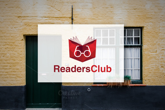 Readers Club Logo Design