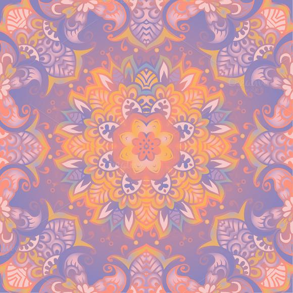 Beautiful Delicate Mandala