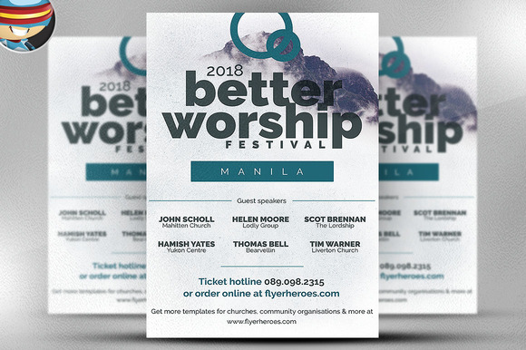 Better Worship Flyer Template