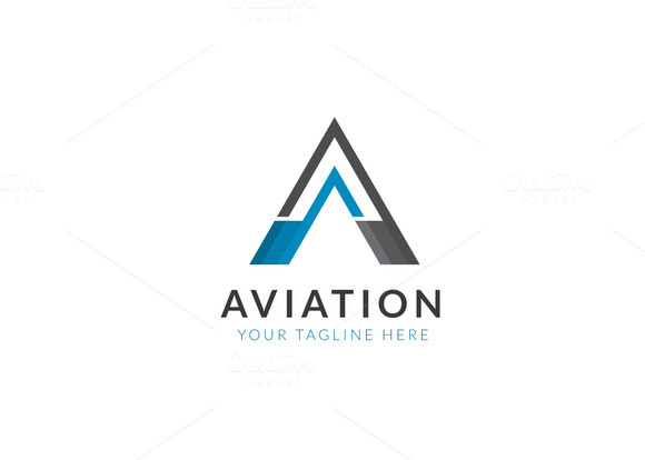 Aviation Logo Vector Designtube Creative Design Content