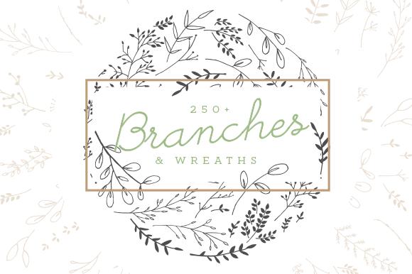 Branches Wreaths Laurels Bundle