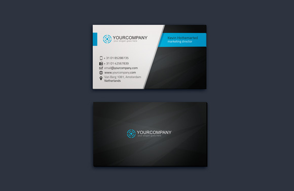 Corporate Business Card Vol 06