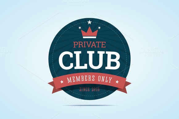VIP Club Badge