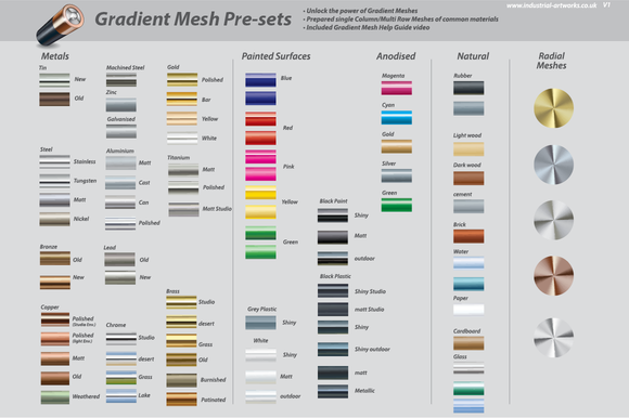 Gradient Mesh Presets