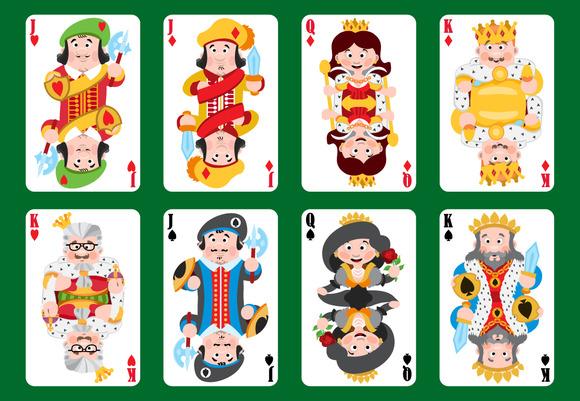 Cartoon Playing Cards