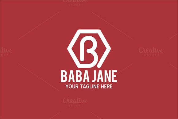 Baba Jane Letter B Logo