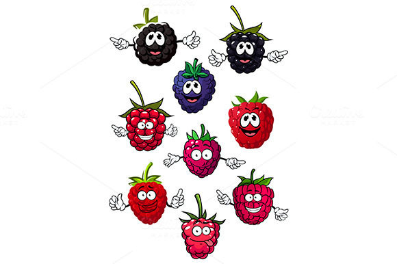 Strawberry Blueberry Blackberry