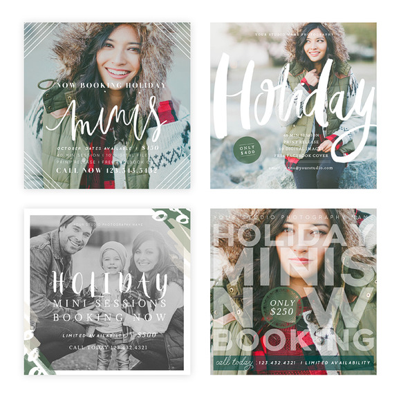 Holiday Minis 2015 Blog FB