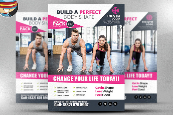 Gym Flyer Template 2