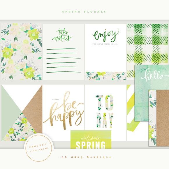 Project Life Spring Florals